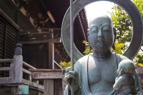 temple buddha near Yanaka 1