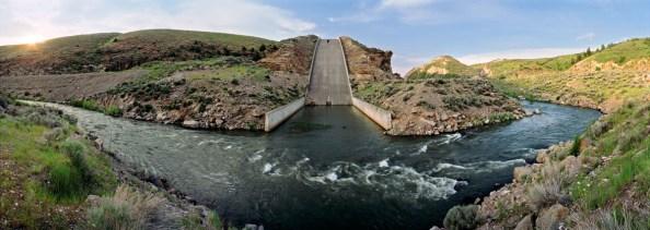 Teton Dam Spillway, Idaho