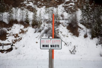 mine waste