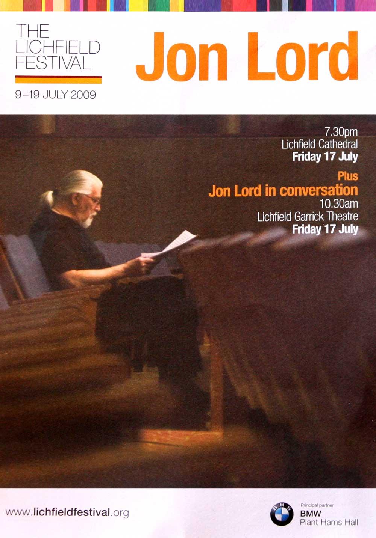 Lichfield 2009 flyer