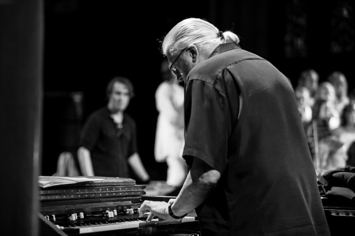 35. Jon Lord with Magnus Johansen