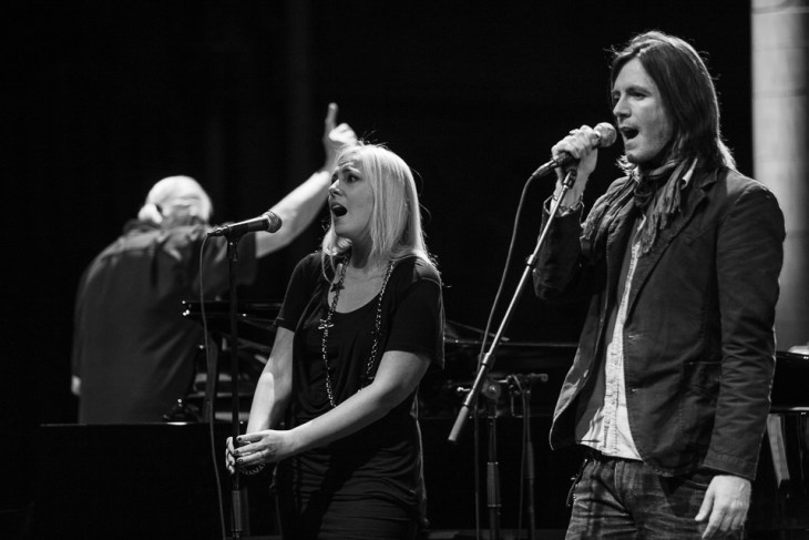 37. Jon Lord, Nathalie Lorichs, Steve Balsamo