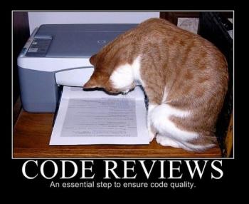 lolcat code reviews