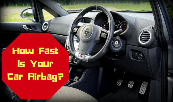 The Speed of a Car Airbag is AMAZING