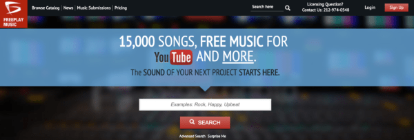 Royalty Free Music for Youtube videos