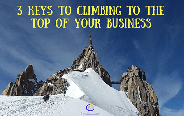 3 Keys To Start Seeing Results In Your Business