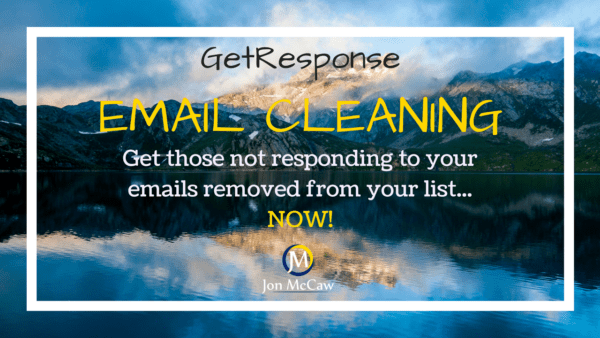 Email List Cleaning With GetResponse