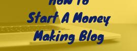 Start a Wordpress Blog