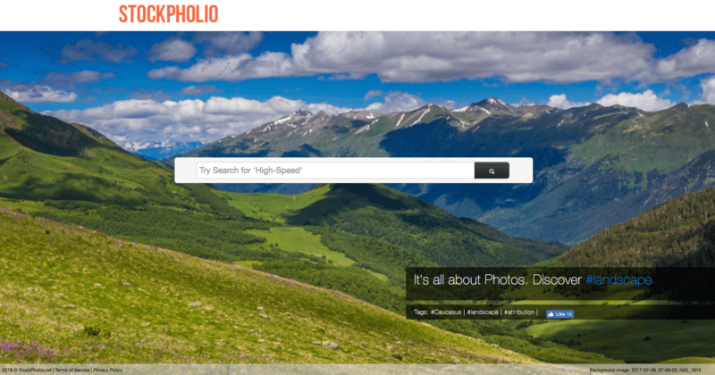 Free image website resources - StockPholio