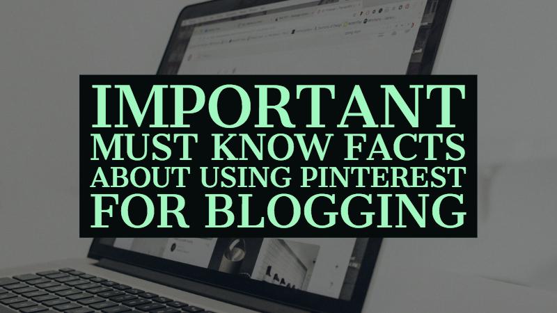 Pinterest For Blogging