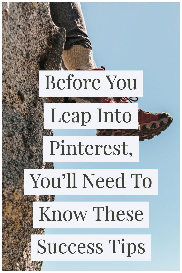 Pinterest for blogging