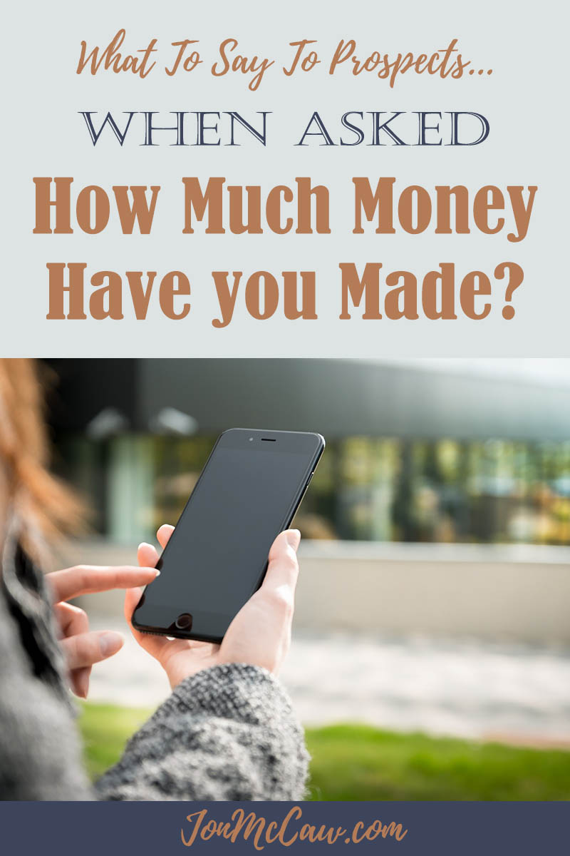 How Much Money have you made