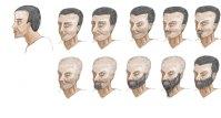 Male 3Q Hair Variations