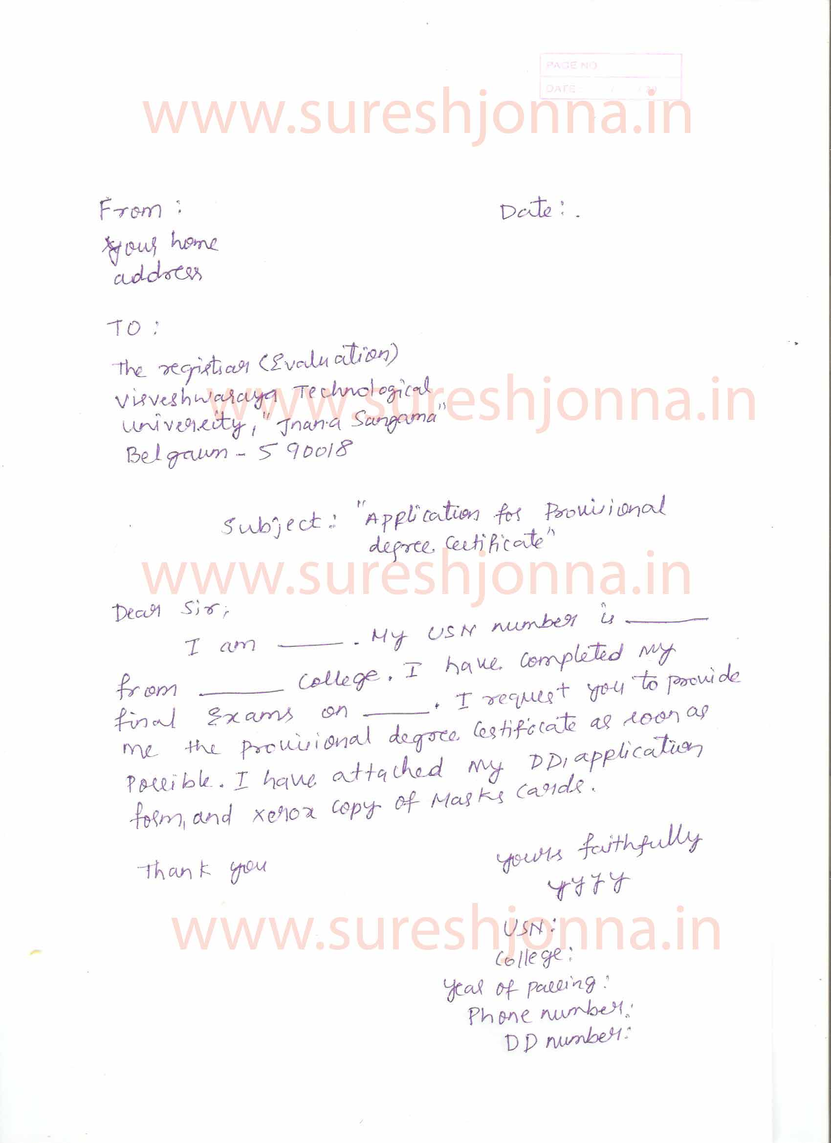 Request Letter For Transcript From College