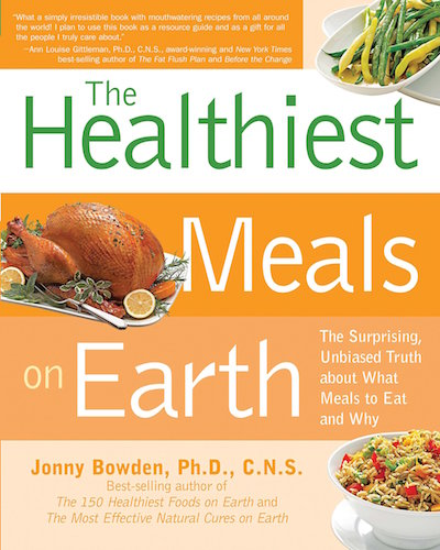 The Healthiest Meals on Earth - Book Cover