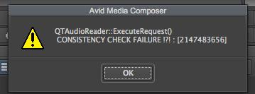 Avid error 3