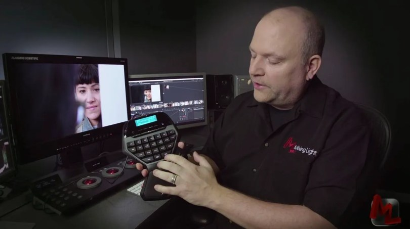 colour grading with logitech G13