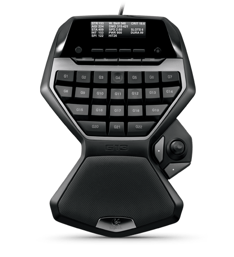 Logitech G13 film editing profiles