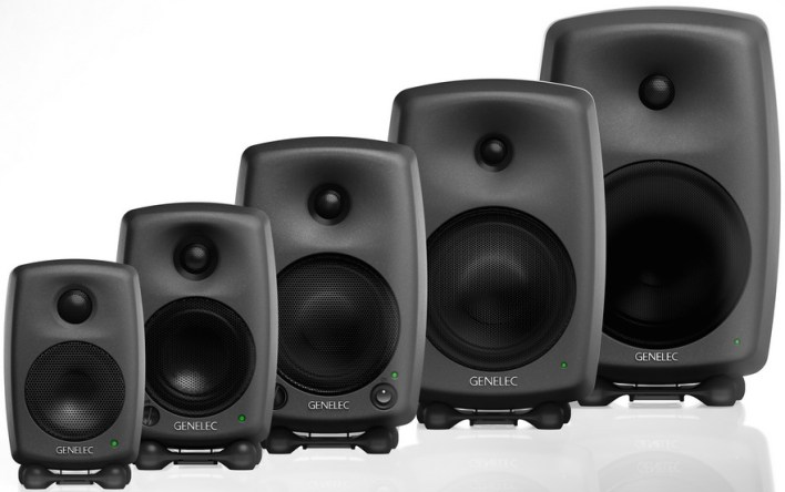 genelec studio monitors for the edit suite