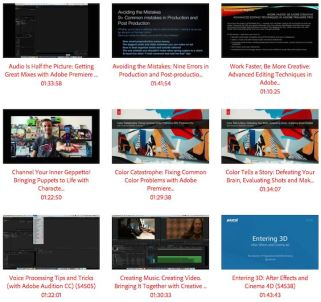 Adobe Max 2015 Post Production Videos