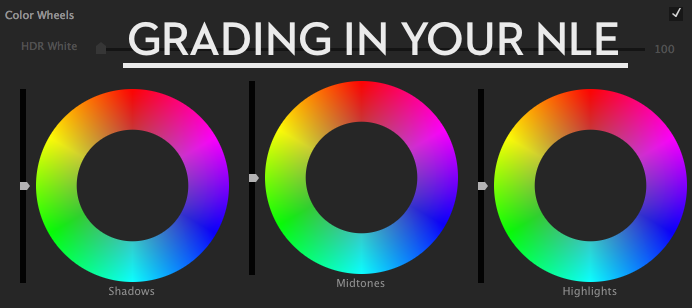 Colour Grading Tutorials in Your NLE