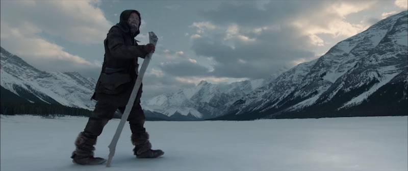shooting the revenant film