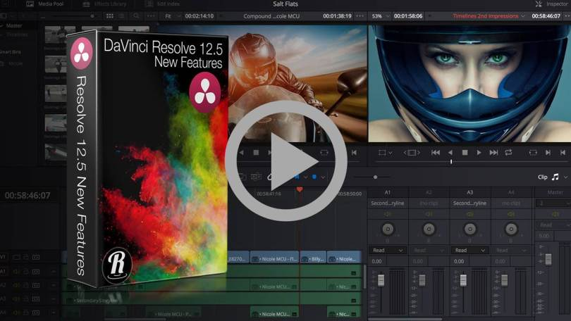 Training on new features in Resolve 12.5