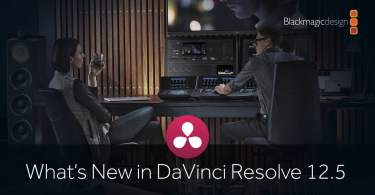 Resolve 12.5 new features