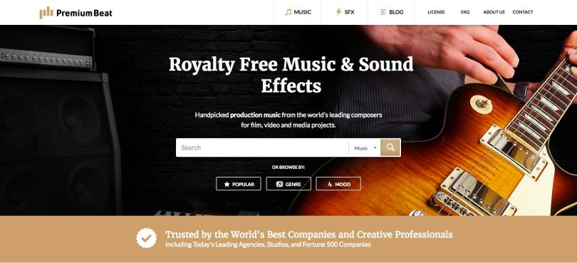The best production music sites
