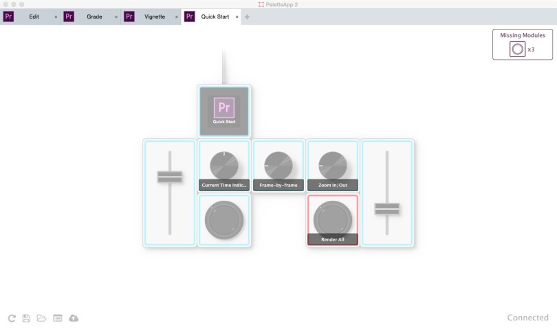 Palette Gear quick Start Profiles