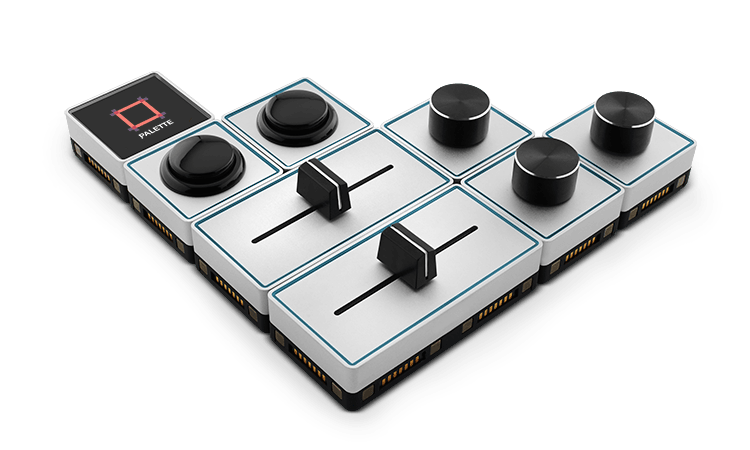 alternative colour grading control surfaces