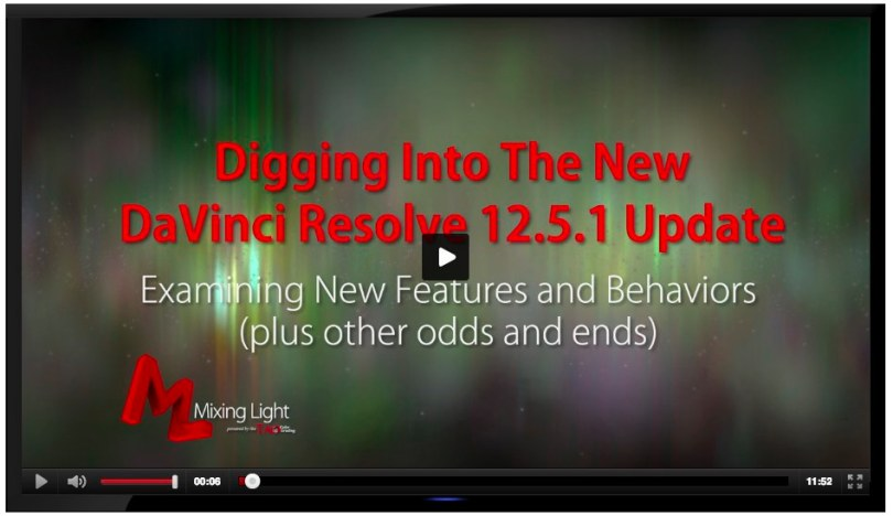 best new features in Resolve latest update