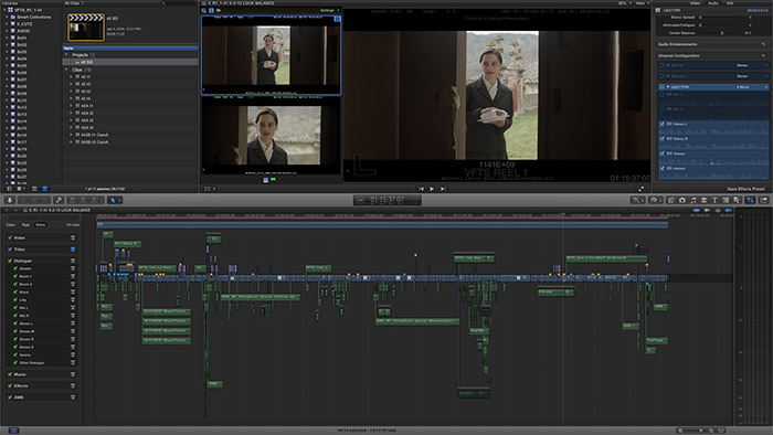 fcpx feature film workflows