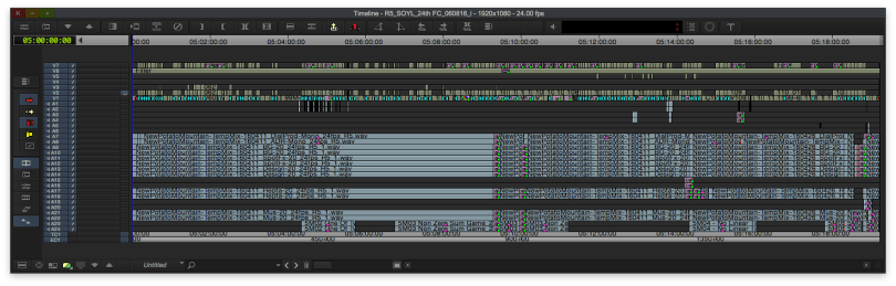 editing Arrival movie