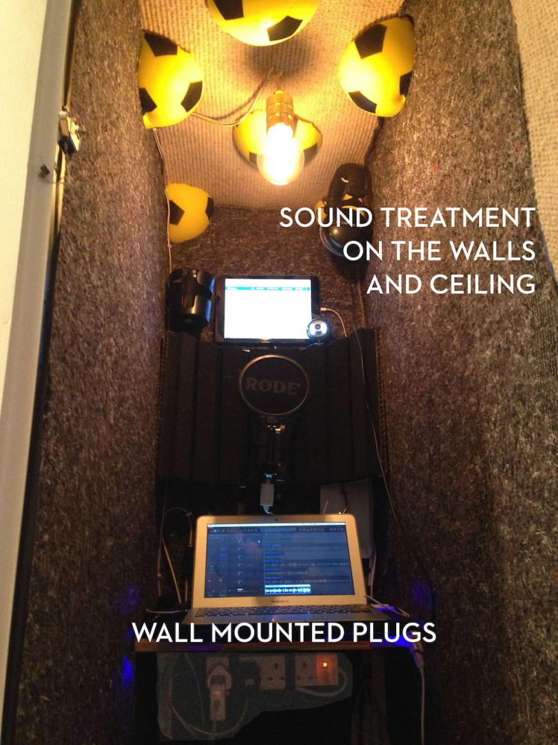 sound treatment for home vo booth