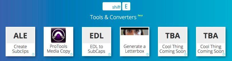 tools for assistant film editors and editors