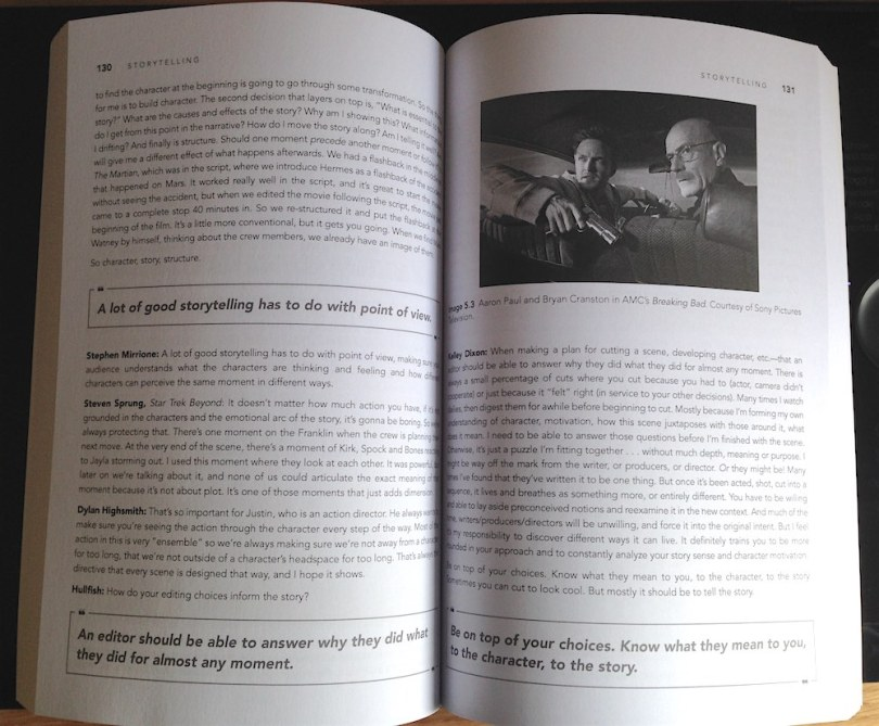 books for film editors on film editing