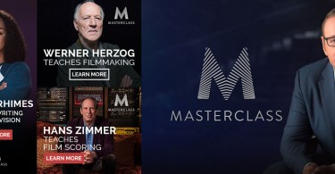 Masterclass.com courses for film editors