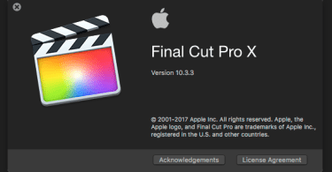 final cut pro 10.3.3 update