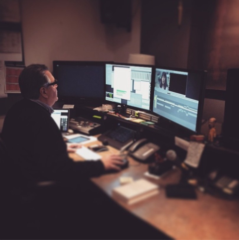 inside professional edit suites