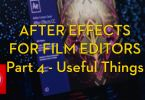 after effects freebies for film editors