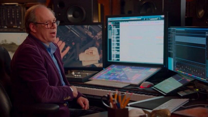 Hans Zimmer composing studio