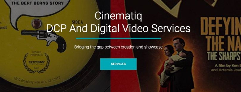 dcp creation services for indie filmmakers