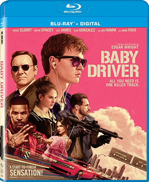 Baby Driver Blu Ray