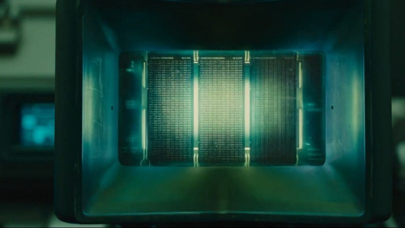Blade Runner Sci-fi interfaces