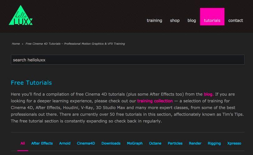 after effects vfx tutorials free download