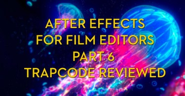 After Effects tools and tutorials for film editors