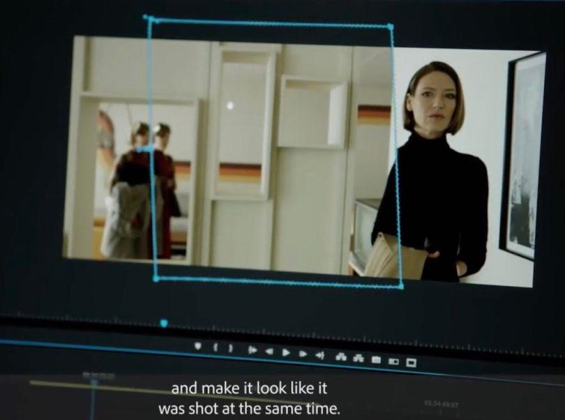 split screen composite in premiere pro
