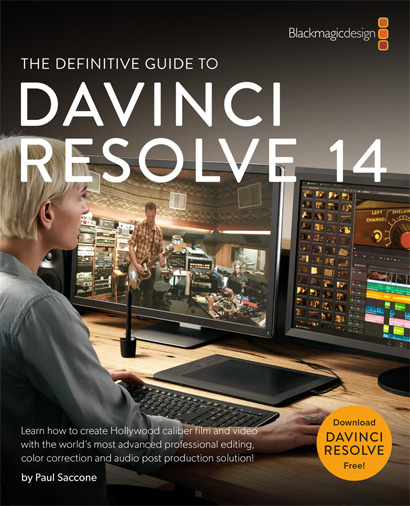 Training books on DaVinci Resolve