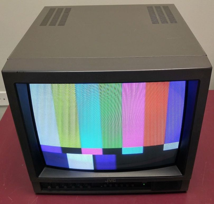 old crt grading monitor